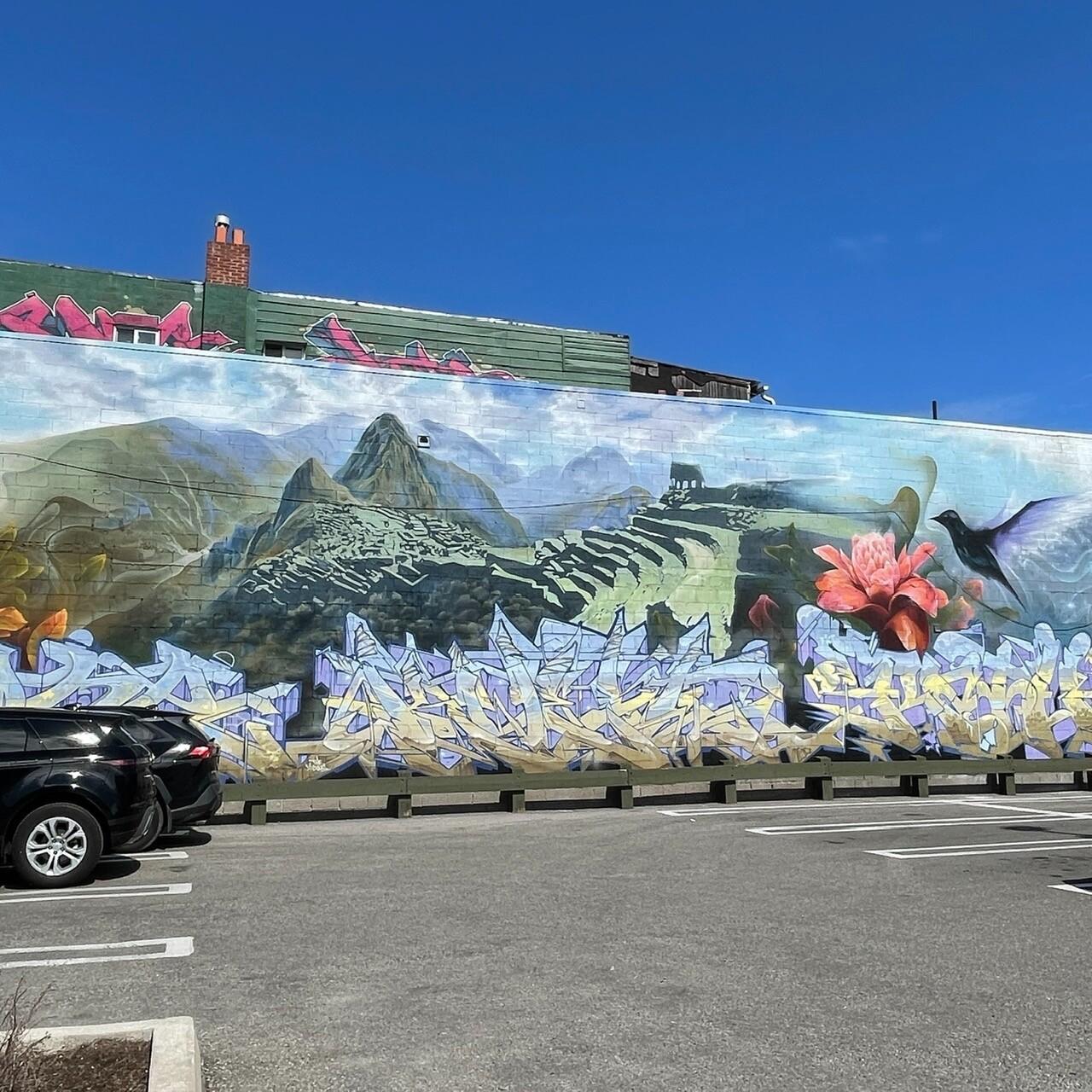 Street Graffiti - Machu Picchu