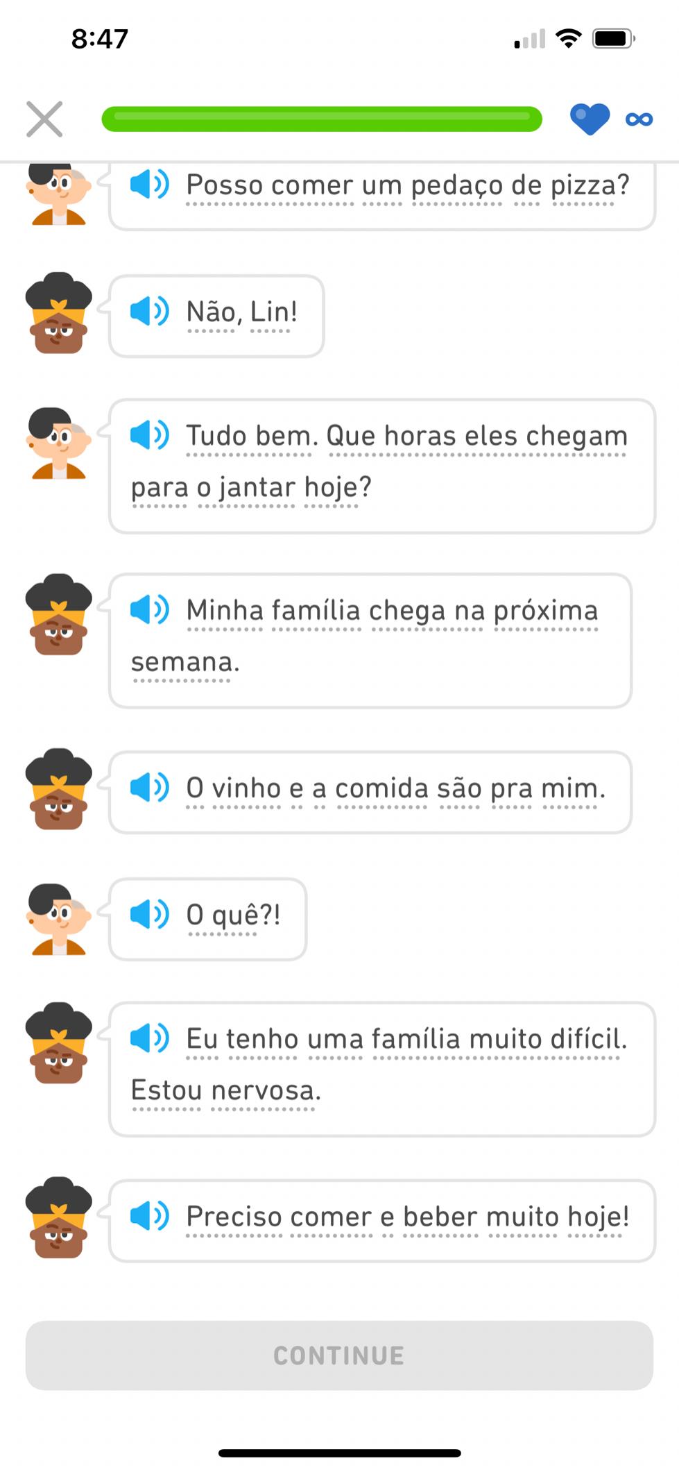 Duolingo Reading
